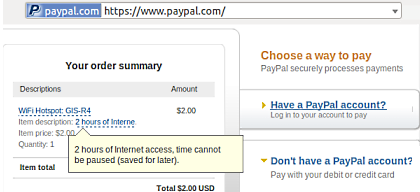 PayPal Payment Server
